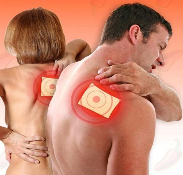 Использование перцовых пластырей в борьбе с остеохондрозом