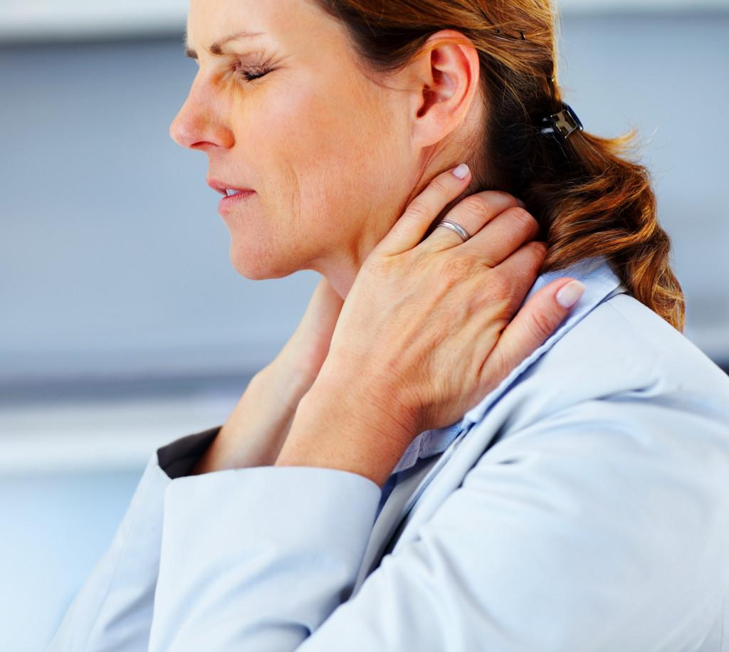Симптоматика остеохондроза шеи