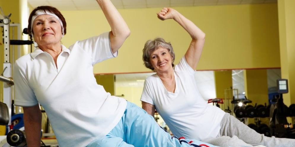 Упражнения при остеопорозе для пожилых женщин