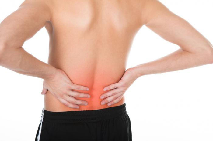Симптомы спондилита
